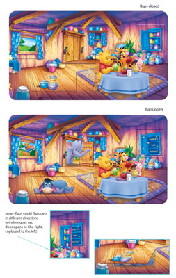 Pooh Placemats product design