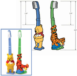 Pooh Toothbrushes product design